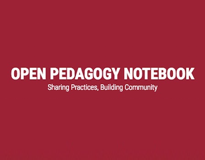 Open Pedagogy Notebook